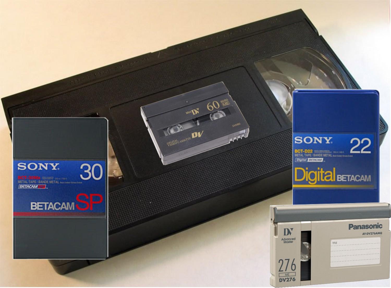 videocassetten